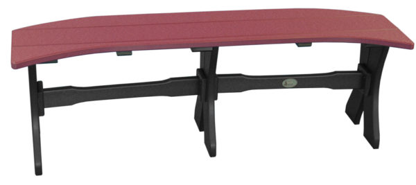 table bench cherrywood black