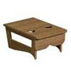 center table antique mahogany