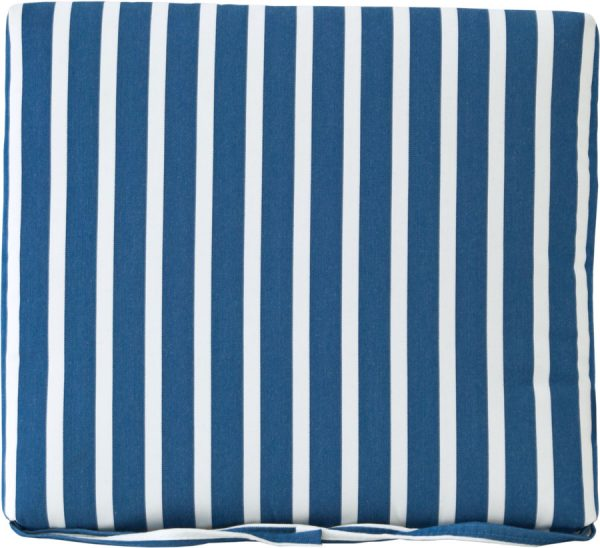 dining chair seat cushion (shore regatta)