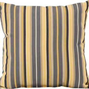 toss pillow (foster metallic)