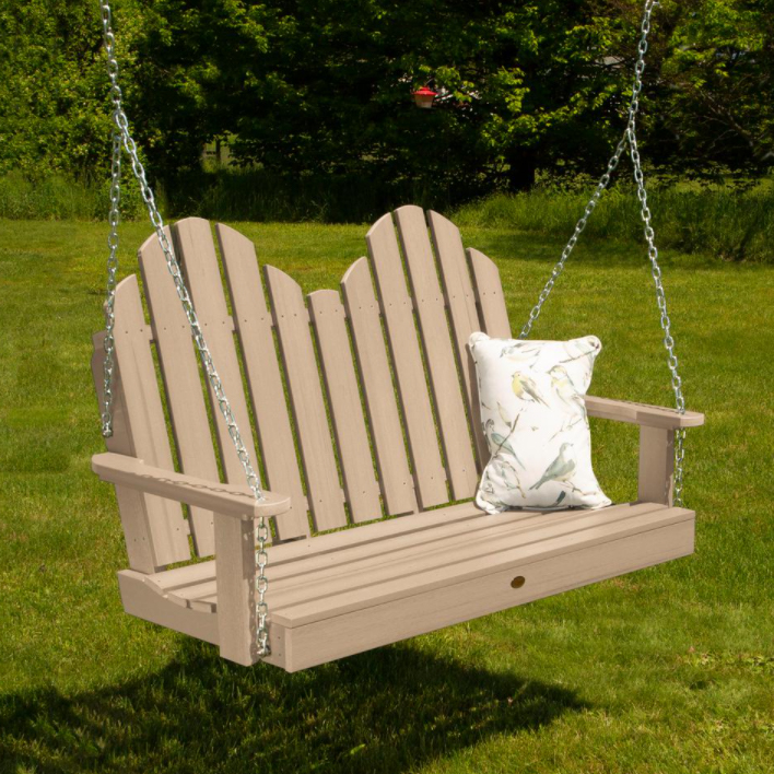 wood porch swing cost