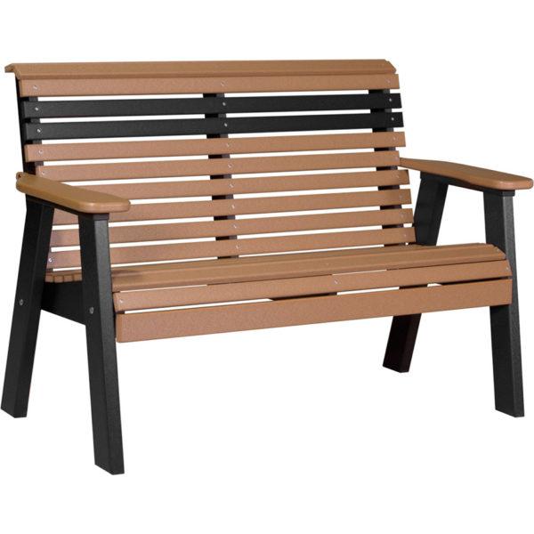 bench cedar black