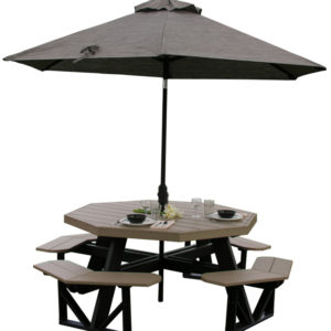 octagon picnic table 2