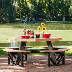 octagon picnic table 3